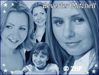 A 1st collage I made for Beverley Mitchell.