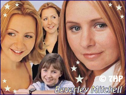 A 3rd collage I made for Beverley Mitchell.