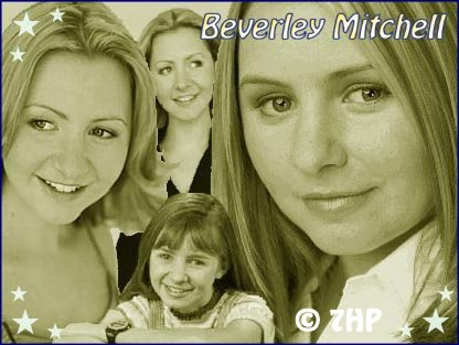 A 2nd collage I made for Beverley Mitchell.