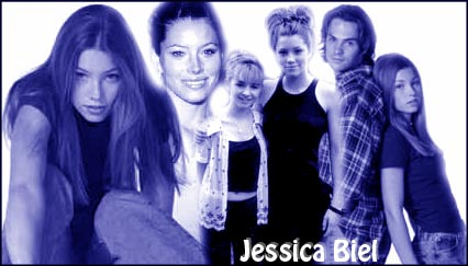 A 1st collage I made for Jessica Biel.