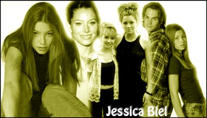 A 2nd collage I made for Jessica Biel.