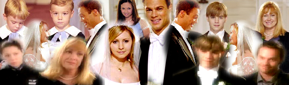 A collage I made in tribute to the 150th episode where Lucy and Kevin got married. It's in relation to their wedding.